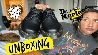 Dr Martens 1461 Unboxing/Try On