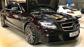 BRABUS CLS 63 800 сил, SLS AMG и C 63 по 800 сил - MORENDI + Mercedes E-Class All-Terrain и TT RS