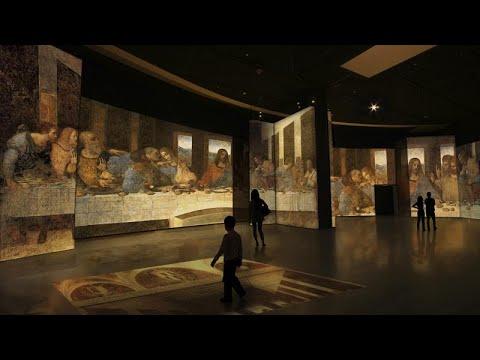 Άνοιξε η μεγάλη έκθεση για τον Λεονάρντο Ντα Βίντσι στο Γκάζι…