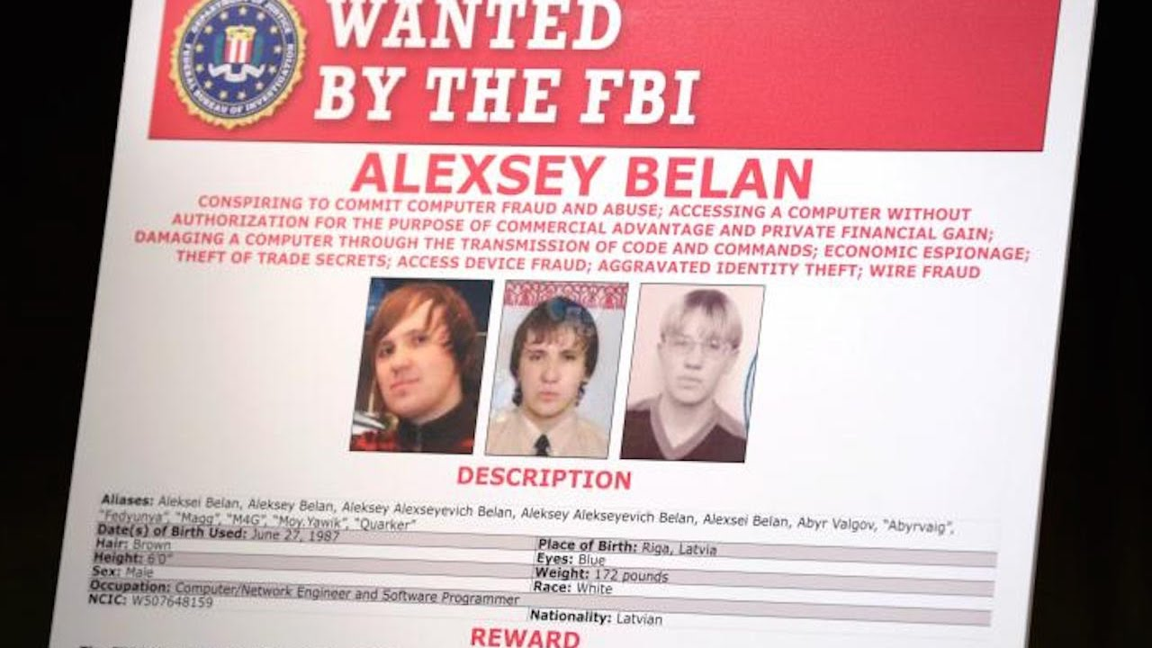 Two Russian Hackers INDICTED thumbnail