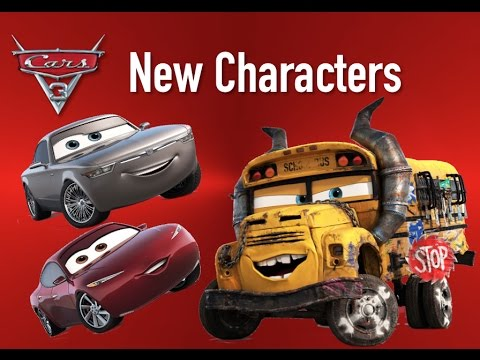Cars 3 New Characters - Miss Fritter, Sterling & Natalie Certain - Reveal & Speculation