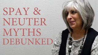Spay & Neuter Myths busted by an expert!