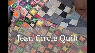 Jean Circle Quilt   Part 1