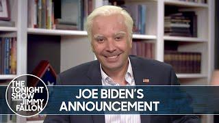 Joe Biden Picks Kamala Harris for Vice President   The Tonight Show