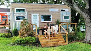Living in a TINY HOUSE with our BIG DOGS!