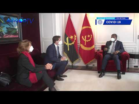 João Lourenço fala de investimentos com empresários franceses