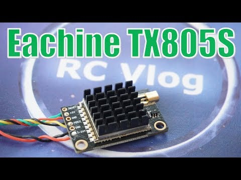 Eachine TX805S. Full Review and Power Metering.