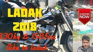preview picture of video 'Ladak bike trip from odisha complete in 8 min'