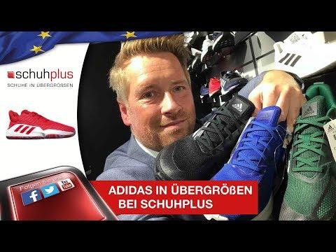 Adidas in Übergrößen bei schuhplus –  Adidas-Sortiment zur Saison Herbst-Winter 2019/2020