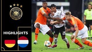 Half-time lead is not enough | Germany vs. Netherlands 2-4 |Highlights | Euro Qualifiers