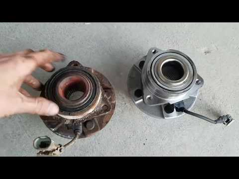 Front Wheel Bearing Assembly Replacement (Saturn Vue 2002-2007)