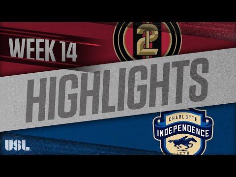 Atlanta United 2 - Шарлотт Индепенденс 1:1. Видеообзор матча 14.06.2018. Видео голов и опасных моментов игры
