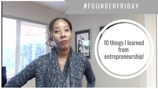 #founderfriday 10 things no one tells you about entrepreneurship.