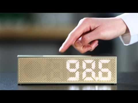 Lexon Titanium Clock Radio