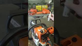 Stihl 025 chainsaw no start diagnostics