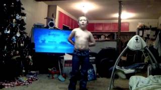 Little Kid Doing Country Boy Swag