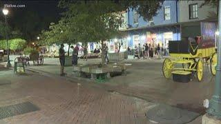 Business as usual in Savannah, Georgia ahead of Hurricane Florence