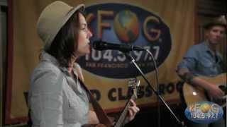 """Brandi Carlile - """"Raise Hell"""" (Live on KFOG Radio)"""