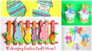 10 Amazing #Easter Craft Ideas | Easter Crafts Compilation | Easter Crafts For Kids