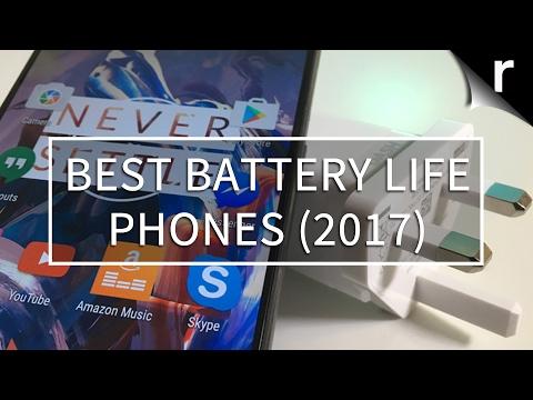 Best battery life smartphones (2017)