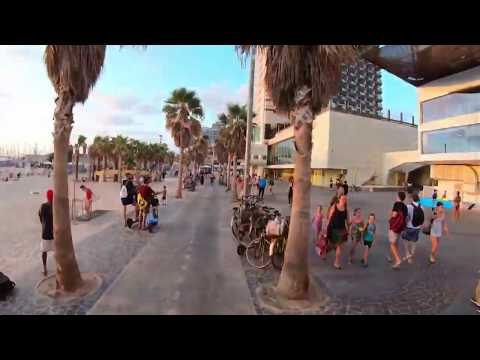 Tel Aviv | Tel Aviv beach walk | walking in Tel Aviv Israel 2019