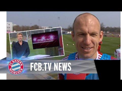 Robben fit fürs Topspiel