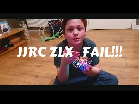 JJRC ZLX H238 Infrared Sensing Control Flying UFO Review