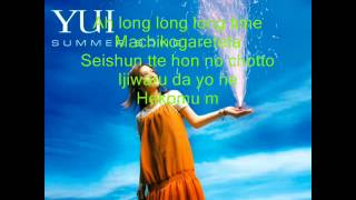 YUI - Summer Song ( Lyrics )