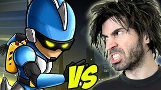 GRAVITY GUY vs The World's Worst Gamer!