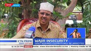 Wajir leaders condemn insecurity in the area
