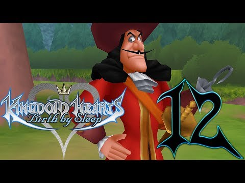 Kingdom Hearts Birth By Sleep Walkthrough Part 12 Terra Neverland [1/2] (Let's Play Gameplay)