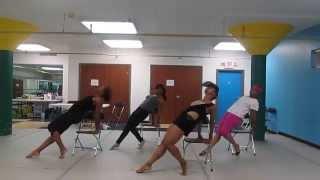 Fantasia-Without Me, Dance Choreography