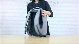 Back Pack Anti Theft With USB Port  Tas Punggung anti Maling dengn Port USB