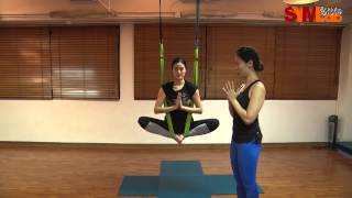 瑜伽教室 - 延展脊椎髖關節 蝴蝶空中舞