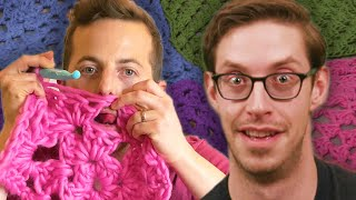 The Try Guys Try Crocheting