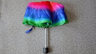 Do not throw away the old umbrella from it you can do a useful thing for the kitchen