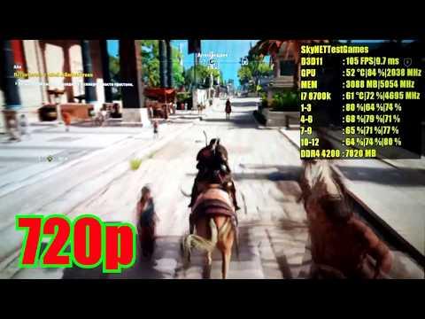 Ryzen 5 1600 gtx 1080 botleneck?! :: Assassin's Creed Origins