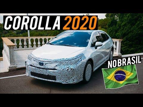 Confira mais detalhes do Novo Toyota Corolla 2020, o primeiro híbrido Flex do mundo!