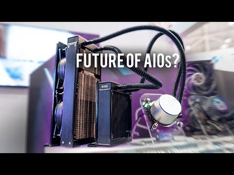 Thermoelectric Liquid AIO Cooler - Cooler Master Prototype!