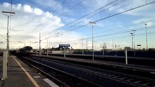preview picture of video 'E652.037 sul TCS 59004 Bicocca - Milano Smistamento, in transito a Campoleone'