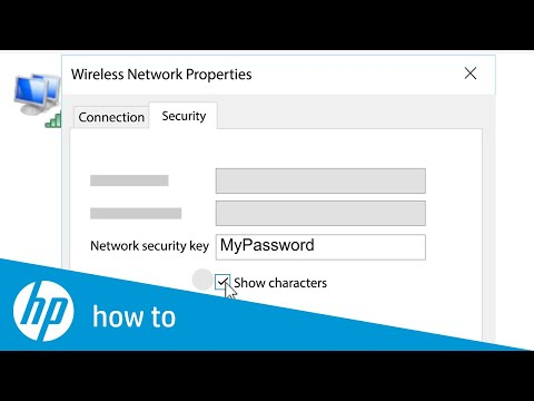 Find Wireless Password in Windows