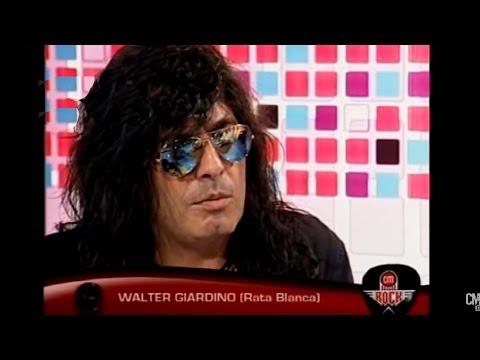 Rata Blanca video Entrevista CM Rock - Walter Giardino 2011