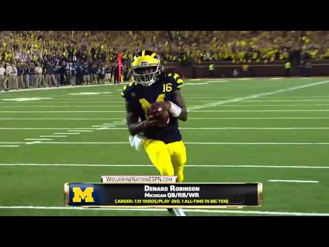 Denard Robinson interview on Shoelace nickname, Michigan and playing for Jaguars | ESPN