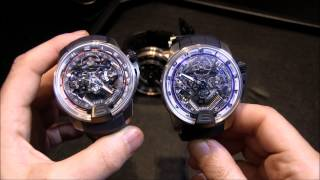 HYT H2 Hydromechanical Watches For 2014 Hands-on | aBlogtoWatch