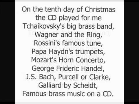 The Twelve Days of Christmas (Song) by Canadian Brass