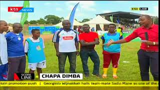 Nyanza regional finals of the Chapa Dimba na Safaricom tournament taking place in Kisii county