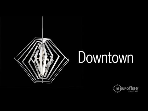 Video for Downtown Chrome Six-Light Chandelier