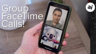 Hands-on with Group FaceTime Video Calls in iOS 12