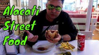 Alacati Street Food Turkey, Kumru & Icy Almonds
