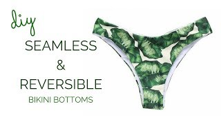 DIY Seamless And Reversible Bikini Bottoms || Katie Fredrickson